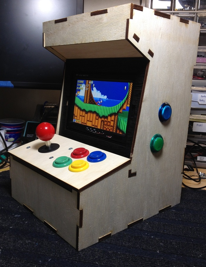 Build Game Console Cabinet