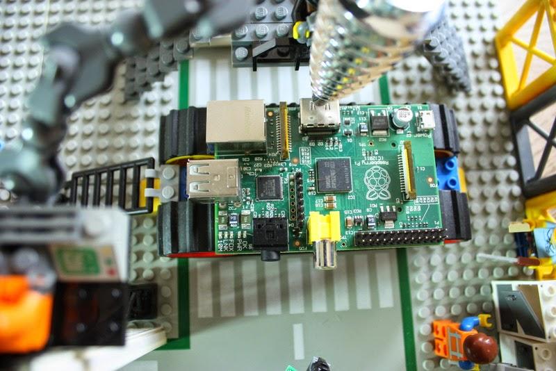 Eine Tür weiter - der Raspberry Pi rollt vom Förderband
