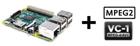 MPEG-2 und VC-1 Wiedergabe auf dem Raspberry Pi - wir zeigen euch wie es geht.